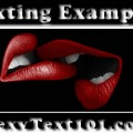 sexting examples