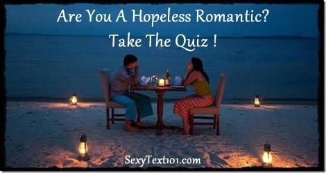 hopeless romantic quiz