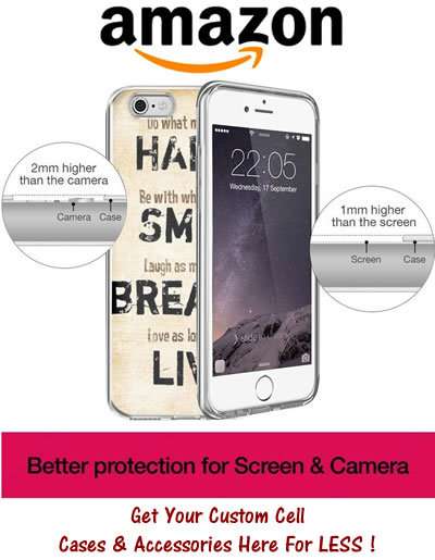 Amazon cell case banner