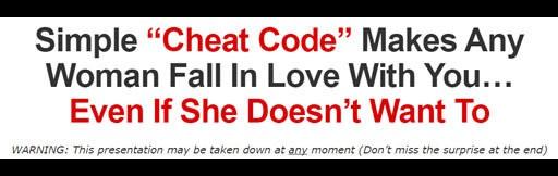 simple cheat code